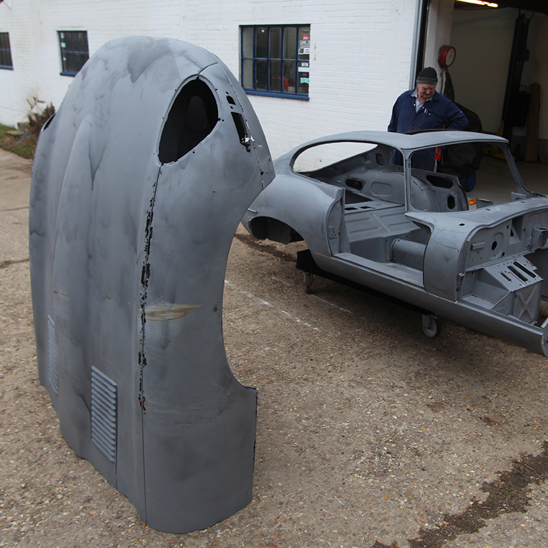 Jaguar chassis