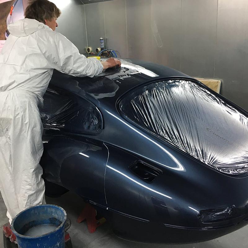 Jaguar Paint facilities